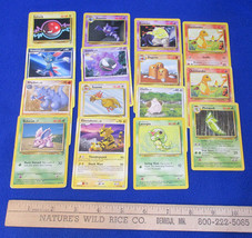 Pokemon Card Game Trading Cards Deck Electrabuzz Rhydon  Mixed Lot of 15 - $6.92