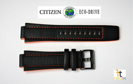 Citizen Eco-Drive Aw1385-03h Echtleder Uhrenarmband 16mm 4-s091195 - $74.81
