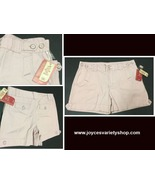 Women's Mauve Pink Midrise Shorts SZ 14 NWT Faded Glory - $11.99