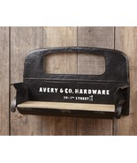 Country new Large Vintage design metal TRUCK SEAT wall shelf - $199.99