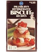 Pillsbury Cookbook Refrigerated Biscuit Recipes 1976 Appetizer Dessert R... - $3.00