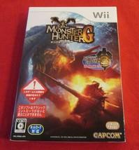 Monster Hunter G & Monster Hunter 3 Tri (Nintendo Wii, 2009) - Japanese ... - $19.79