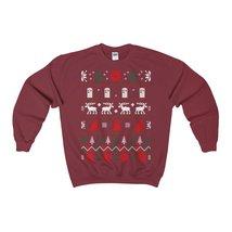 dr who ugly christmas sweatshirt xmas - $29.95+