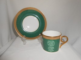 Minton Coffee Cup & Saucer Backstamp Collection 2004 (C) - $23.75