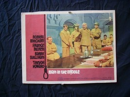 "MAN IN THE MIDDLE-1964-11""x14"" LOBBY CARD #5-MILITARY G/VG - $17.46"
