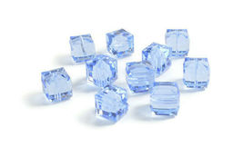 4pcs - 4mm Swarovski Crystal Cube Beads #5601 - You Choose The Color image 7