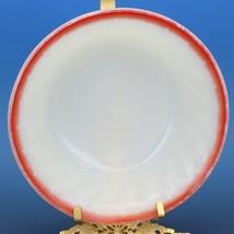 "Vintage Fire King Sunrise Red Swirl 5"" Desert Fruit Bowls - a set of 2 image 2"