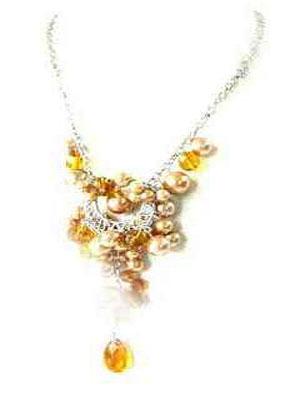 0125ng sea shell pearl necklace