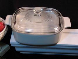 Vintage Corning Ware Beige Coupe Casserole 1 Liter Pyroceram Cookware Glass - $27.99