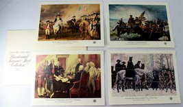 USPS Bicentennial Souvenir Sheet Collection, 1976, 4 Different Sheets, N... - $15.00
