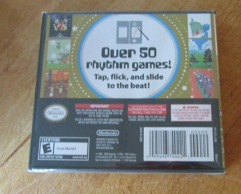 Rhythm Heaven (Nintendo DS, 2009) Brand new