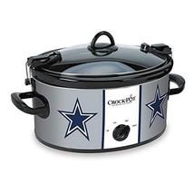 Crock Pot Dallas Cowboys NFL 6 Quart Meal Cook Carry Slow Cooker Tailgat... - $59.35