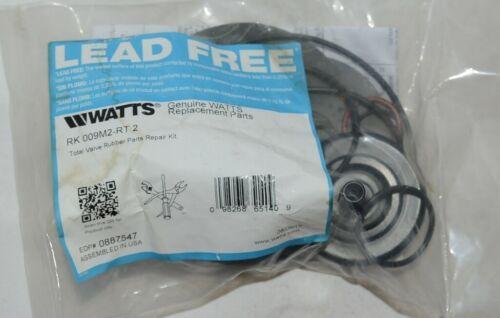 Watts RK 009M2-RT 2 Total Valve Rubber Parts Repair Kit Lead Free