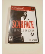 Scarface: The World is Yours ~ RARE SEALED PS2 Game ~ (Sony Playstation ... - $97.98