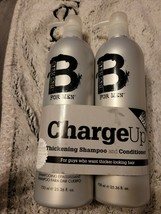 Tigi Bead Head for Men Charge UP Thickening Shampoo & Conditioner Duo 25.36 oz - $19.80
