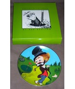 """RED SKELTON """"FREDDIE ON THE GREEN"""" Collector Plate & Box L/E HAND SIGNED... - $350.00"""