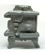1998 Priscilla Hillman Enesco Miniature Toy Doll House Teddies Stove Wor... - $9.95