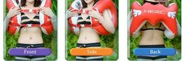 Herc Adult Shoulder Swim Ring Tube for Men Women (Red) image 3