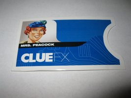 2003 Clue FX Board Game Piece: Mrs. Peacock Suspect Envelope - $1.00