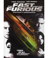 The Fast and the Furious (DVD, 2002) - $2.21
