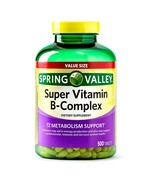 Spring Valley Super Vitamin B-Complex Tablets, 500 Count+ - $36.62