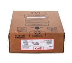 Diet Coke Soda Syrup 2.5 Gallon Bag in Box BIB by Coca-Cola - $94.04