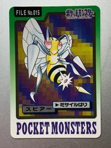 Beedrill Carddass Bandai Pokemon Card Game Japanese Nintendo Very Rare F/S - $9.88