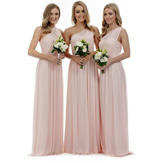 pink bridesmaid dress,Long bridesmaid dress,cheap bridesmaid dresses