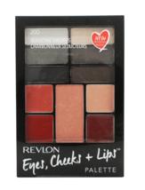 Revlon Eyes Cheeks + Lips Palette, 200 Seductive Smokies 8 shades of Romantic - $4.62