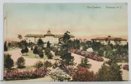 Pinehurst NC THE CAROLINA Hand Colored North Carolina Postcard M14 - $24.95