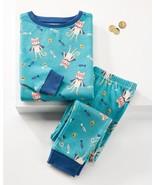 Blue Caspian Cat top & Bottom Sleep Set - $29.99