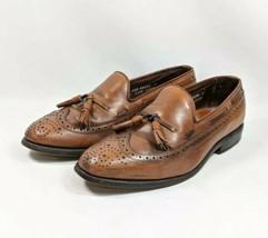 Allen Edmonds Tassel Long Wing Oxfords Men's Size 6.5 EEE Brown Leather (sb16ep) - $49.99