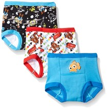 Disney Boys' Cars Toy Story Nemo 3 Pack Training Pant - $12.99