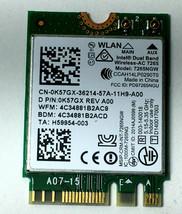 K57GX Dell Wireless Card I7352-4445SLV I3565 i7352 i7573 i73737 i7558 - $6.44