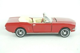 Franklin Mint 1/43 Scale 1964 Ford Mustang Convertible Red - $28.02