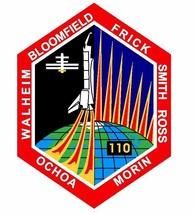 STS-110 Nasa Atlantis Sticker M523 Space Program - $1.45+