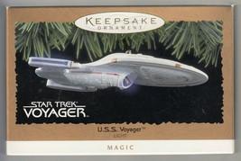 Star Trek: Voyager - U.S.S. Voyager - Hallmark Keepsake Ornament - Light... - $19.59