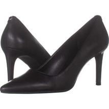 MICHAEL Michael Kors Dorothy Flex Pump Classic Heels 759, Black Leather,... - $44.15