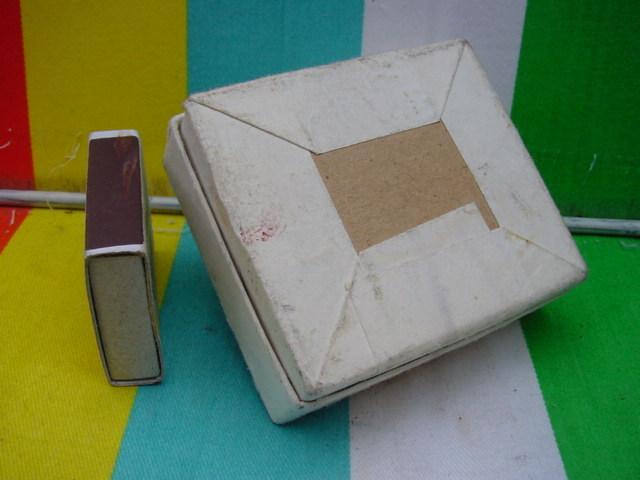 RARE VINTAGE  SOVIET RUSSIAN CHARCOAL BOX