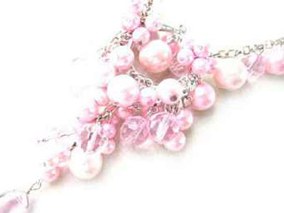 0125npsea shell pearl necklace