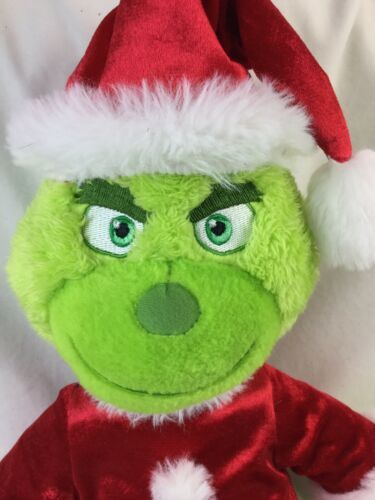 Build A Bear BAB Dr Seuss Grinch The Movie 2018 Stuffed Plush With Sound Box  image 7