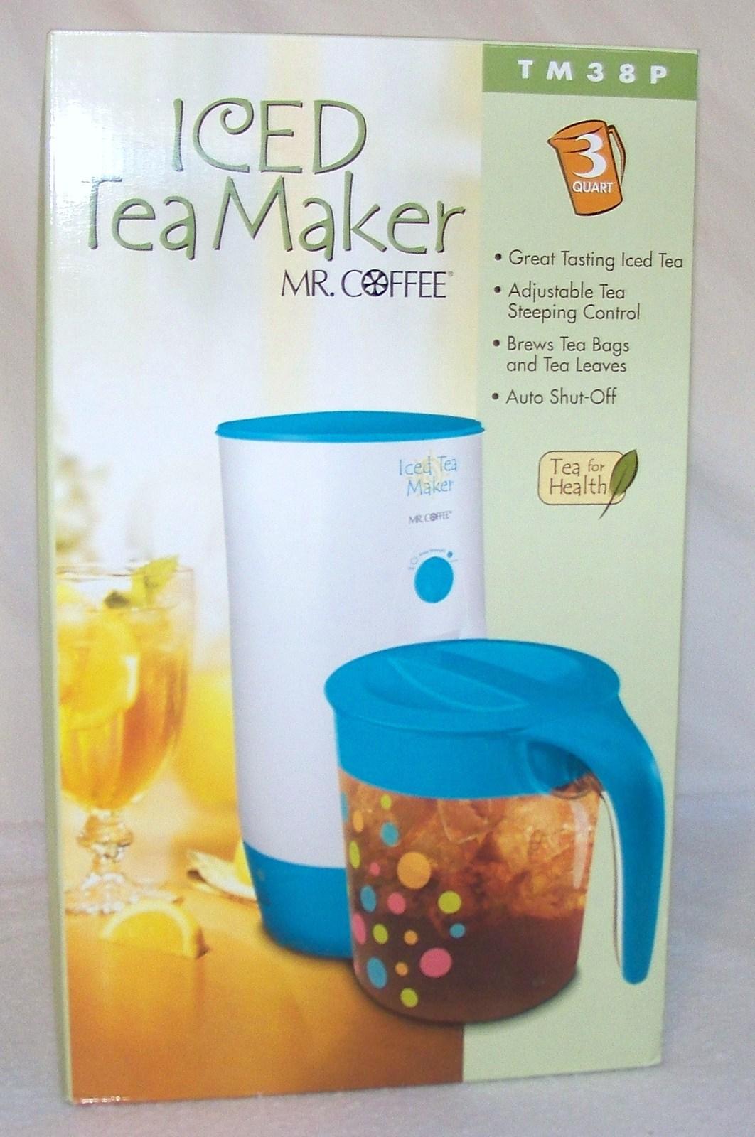 mr coffee 3 quart iced tea maker instructions