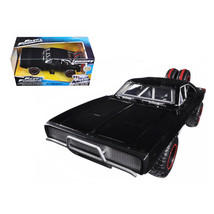 Doms 1970 Dodge Charger R/T Off Road Version Fast & Furious 7 Movie 1/24... - $30.60
