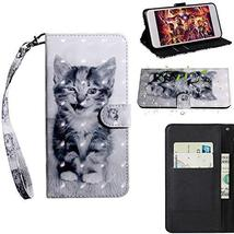 XYX Wallet Case for Motorola Moto G7 Play,[Wrist Strap] Painted Design P... - $9.88