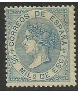Spain 1868 Scott# 98 MH - $133.00