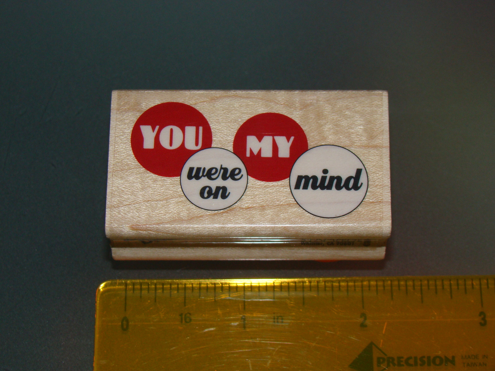 Rubber Stamps - YOU were on MY mind (New)
