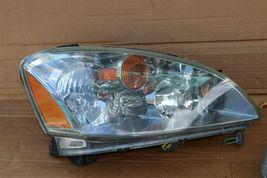 03-04 Nissan Altima Xenon HID Headlight Head Light Lamps Set L&R - POLISHED image 4