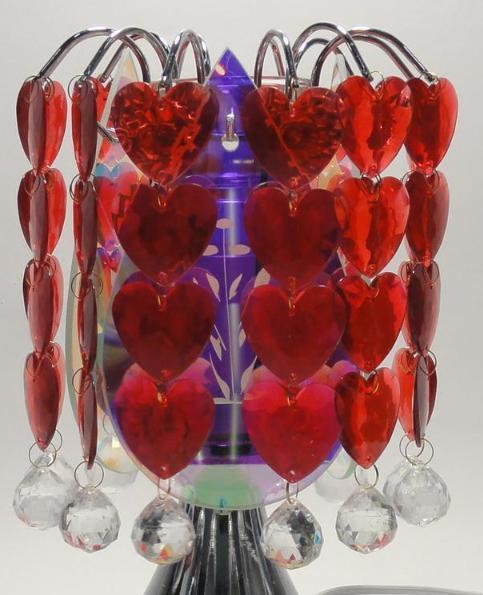 Hearts  Electric Glass Oil or Tart Warmer