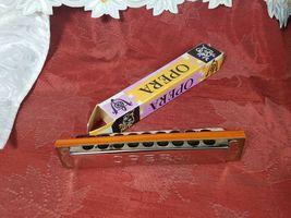 VINTAGE 50'S Opera Harmonica - Made in Germany in Original Box image 5