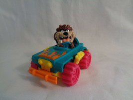 McDonald's Vintage 1992 Warner Bros Tiny Toons Spinning Tazz Jeep Figure - $2.48